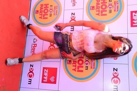 Zoom Holi Party 2015 dazzled by Sunny Leone and many other stars from Bollywood and the Telly land- Pocket News Alert | Latest bollywood News & movies news,Upcoming Movies trailer Updates, movie show time | Scoop.it