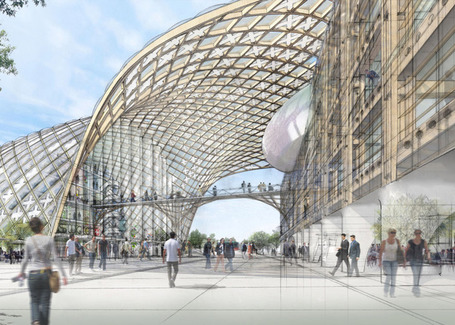 Headquarters for Swatch and Omega by Shigeru Ban | Inspired By Design | Scoop.it