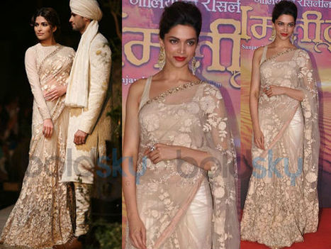 Deepika Padukone Wows In Sabyasachi | CHICS & FASHION | Scoop.it