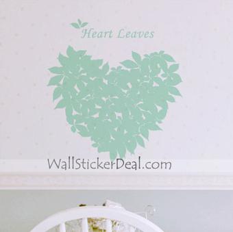 Heart Leaves Tree Wall Sticekrs – WallStickerDeal.com   Tree Wall Stickers   Scoop.it