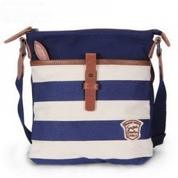 Mini striped canvas over shoulder crossbody bag for women - $69.60 : Notlie handbags, Original design messenger bags and backpack etc | Womens fashion | Scoop.it