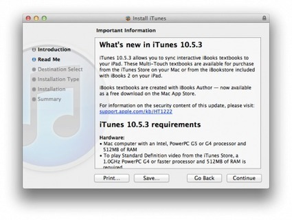 Apple Releases iTunes 10.5.3 With Support for iBooks Textbooks | The many ways authors are using Apple's iBooks Author and iBooks2 | Scoop.it