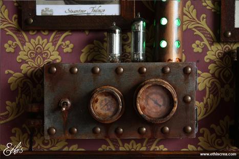 Ethis Crea: Comment faire un manomètre steampunk | Choose Steampunk | Scoop.it