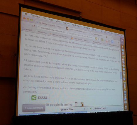 DevLearn 2011 Takeaways & Reflection ~ Internet Time Alliance | Internet Time Alliance | Scoop.it