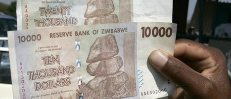 Do you have change for a billion? The mad world of Zimbabwe's currency | Inflation and Unemployment | Scoop.it