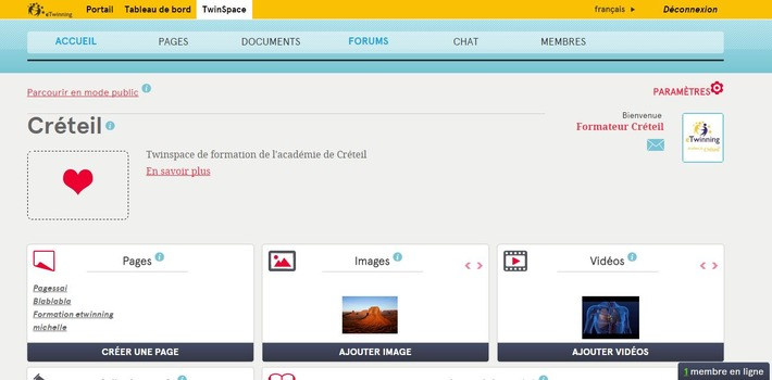 Utiliser le NOUVEAU TwinSpace eTwinning ? C'est facile comme ça...   TIC et TICE mais... en français   Scoop.it