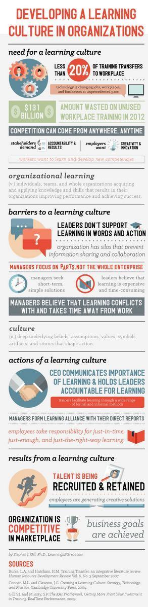 Develop a Learning Culture | Educational Technology and New Pedagogies | Scoop.it
