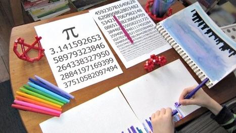 13 Creative Ways To Teach Kids Math With Art | Arts & Crafts | Scoop.it
