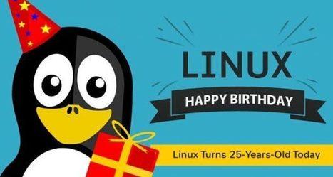 Linux : 25 ans de liberté et de gratuité | CyberClub | Scoop.it