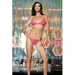 Ensemble 2 pièces Sequin Ouvert, soirée disco coquine | lingerie sexy | Scoop.it