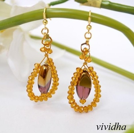 Crystal drops - Craftsia - Indian Handmade Products & Gifts | Indian Handmade Jewelry | Scoop.it