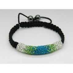 Shamballa pas cher,Fashion Shamballa Bracelet With CZ Rhinestone Tube 3 | Women Cloth | Scoop.it