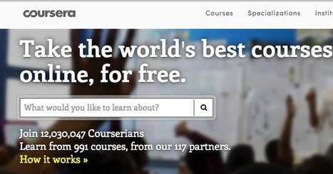 Three Excellent Places to Find Free Online Courses ~ Educational Technology and Mobile Learning | TEFL & Ed Tech | Scoop.it