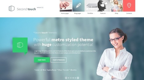Best WordPress Business Themes 2014 | WordPress Theme | Scoop.it