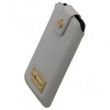 GLÖÖCKLER Luxus Leder Tasche Weiss für iPhone 5 / iPhone 5C / iPhone 5S     tablet zubehör   Scoop.it