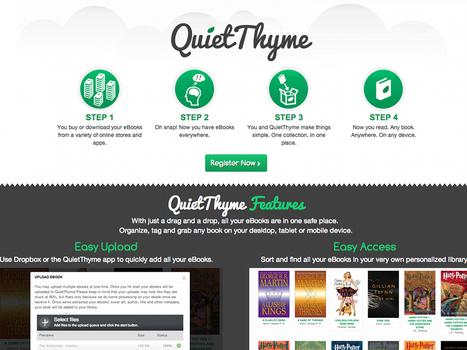 QuietThyme, créer une bibliothèque virtuelle en ligne gratuite | Geeks | Scoop.it