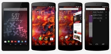 Lucid Launcher Pro 3.4 apk   Android Themes   Scoop.it