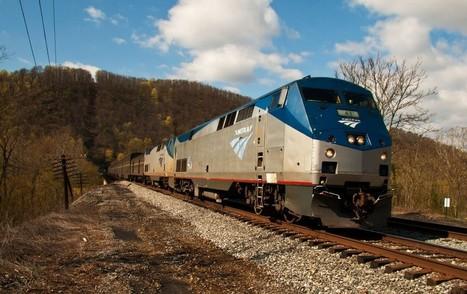 Writers get all aboard Amtrak's train residency program | The Rundown | PBS NewsHour | PBS | Writer, Book Reviewer, Researcher, Sunday School Teacher | Scoop.it