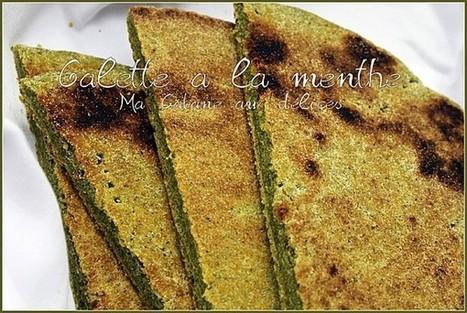 Galette kabyle a la menthe fraiche   La cuisine de Djouza recettes faciles et rapides   Boulange   Scoop.it