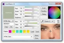 ColorMania : Advanced Colorpicker and color scheme generator   Starchimachim directory   Scoop.it