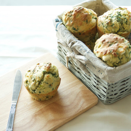 Spinach and Feta Savory Muffins | Optimum Health: Nutrition, Physical Fitness, & Recreation | Scoop.it