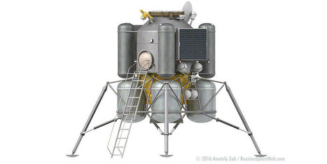 Revealed: Russia's Crewed Lunar Lander | More Commercial Space News | Scoop.it