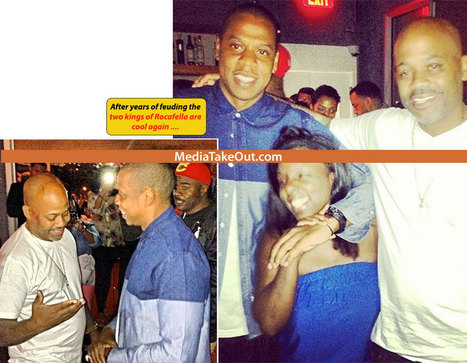 FRIENDS AGAIN!! Jay Z And Dame Dash Are Photo'd Together . . . HUGGING . . . Like OLD FRIENDS!! - MediaTakeOut.com™ 2013 | GetAtMe | Scoop.it
