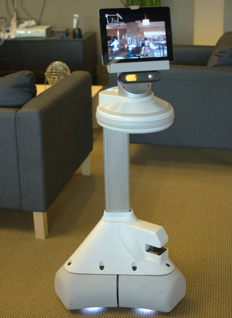 "iRobot's Ava: Have tablet, will travel | L'impresa ""mobile"" 