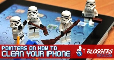 Pointers On How To Clean Your iPhone | Bloggers Tech | Scoop.it