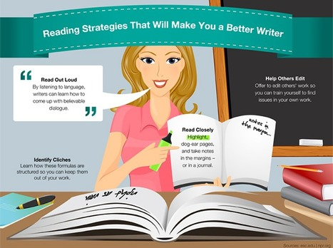 Genius Reading Strategies That Will Make You a Better Writer - Online College Courses | Reading and Writing | Scoop.it