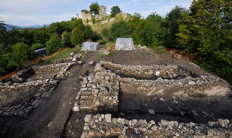 2012 - Dernières fouilles au Château-Vieux d'Allinges | l'histoire | Scoop.it
