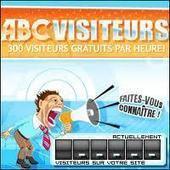 Abc Visiteurs vous propose un échange gratuit et automatique de visiteurs pour votre blog | Trouver des clients | Scoop.it