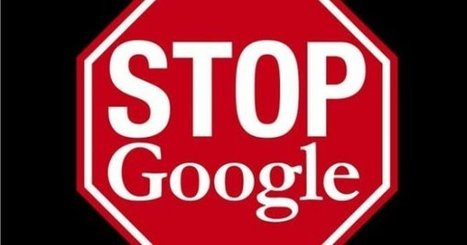 """Stop Google"" de Franck Cazenave 