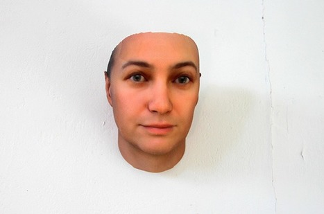 Look out. Heather Dewey-Hagborg' might have 3D printed your face...   Art for art's sake...   Scoop.it