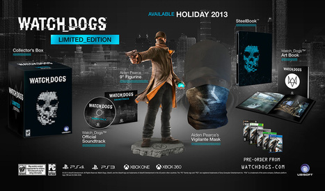 Watch dogs limited edition   Gaming nieuws   Scoop.it