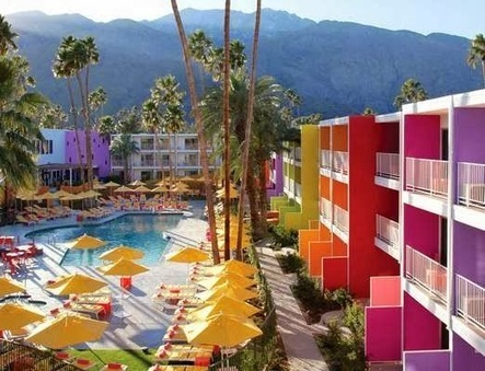 ☼ Rainbow hôtel à Palm Springs ☼ | Déco Design | Scoop.it