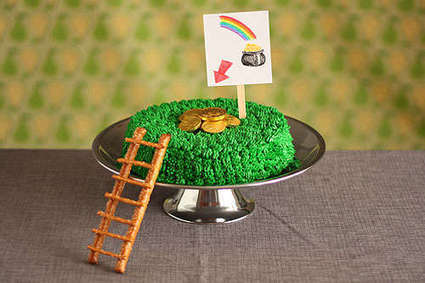 Leprechaun Trapping Cakes - This is the Most Elaborate St Patrick's Day Cake You'll Ever See! (TrendHunter.com) | Girlfriends' Hub | Scoop.it