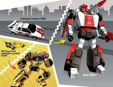 Transformers: The Cars Behind the Original Autobots | Infographics | Scoop.it