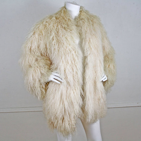 70's Vintage Fabulous Tibetan Lamb Rock Star Coat | Kitsch | Scoop.it