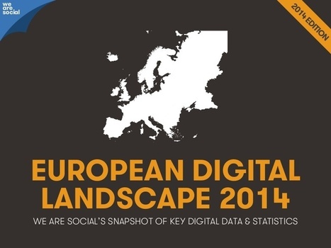 European Digital Ladscape 2014 | Talking things | Scoop.it