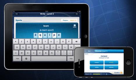 TV5MONDE- Apprendre le français avec 7 Jours- L'application 7 jours: des jeux de lettres pour mieux apprendre | Conny - Français | Scoop.it