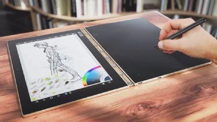 Lenovo Yoga Book, una portátil y tableta hecha para artistas que funciona con Windows o Android   Ojo Android   Scoop.it