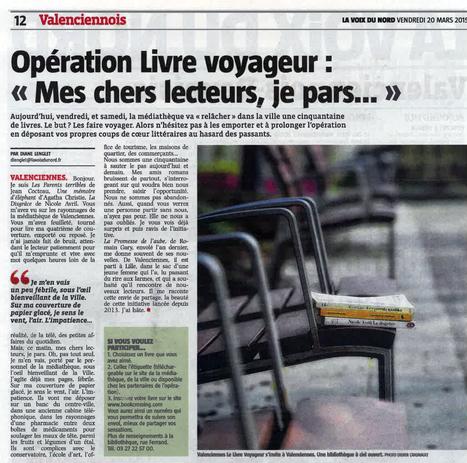 Opération Livres Voyageurs | Revue de presse | Scoop.it