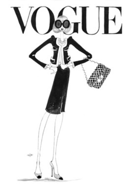 High Fashion Illustrations by Nancy Macnack | Fashion Blast: Topshop, Prada, Louis Vuitton and Other Successes in the Fashion World | Scoop.it
