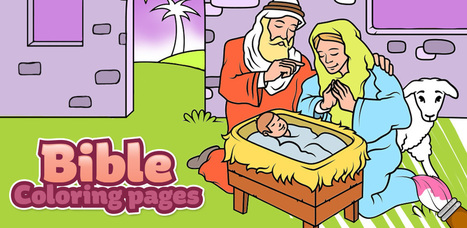 Bible Coloring Book for Kids - Free for Android, iOS & Windows | Best Apps & Games for Android and iOS | Scoop.it