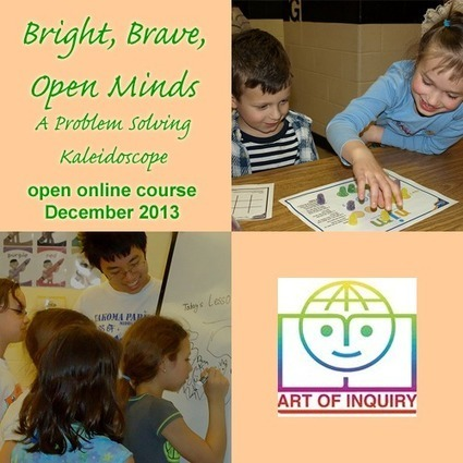 Bright, Brave, Open Minds: A Problem Solving Kaleidoscope. Open online course for parents and teachers | Moebius Noodles | STEM | Scoop.it