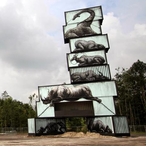 ROA New Pieces - Werchter, Belgium   MAISON : OBJET DESIGN+ART CONTEMPORAIN   Scoop.it