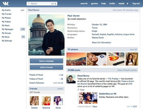 6 foreign social networks to use to market far beyond Twitter and Facebook - Technorati | Internet Marketing & SEO | Scoop.it
