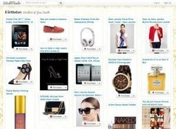 WishMindr, online wishlist maker and reminder service. | Shopping tools | Scoop.it
