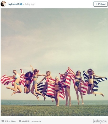 Taylor Swift's Epic 4th Of July Party With Her Friends | Entertainment | Scoop.it